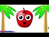 Island Fruits Groove - Fruit Ninja Song, Learn Fruit Names, Super Simple Baby Learning