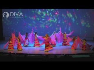 Детский танец живота (восточный танец)