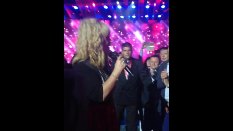 Алла Пугачева - Пригласите даму танцевать (Бенефис Максима Галкина, Витебск. 13.07.2016)