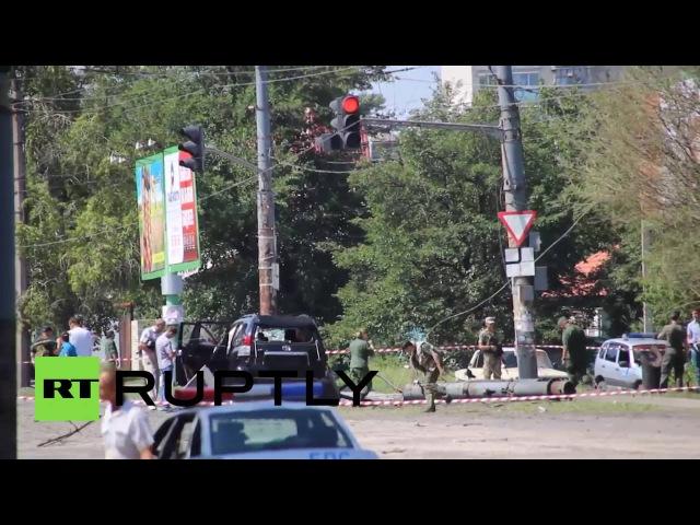 В Луганске взорвана машина главы ЛНР Плотницкого