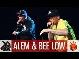 ALEM &amp BEE LOW Grand Beatbox Battle JUDGE SHOWCASE