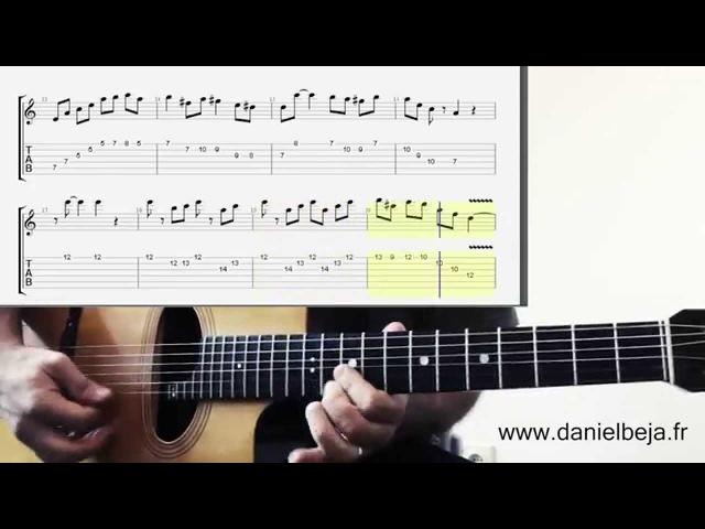 Minor Swing Guitar and Violin Solo Tabs