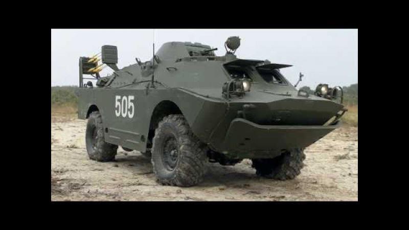 BRDM-2 RC 110 FULL METAL WALK AROUND