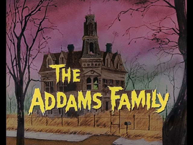 The Addams Family - Gomez and Morticia (in COLOR) - POP-COLORTURE.com