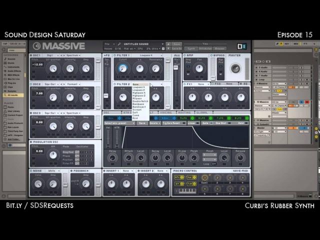 Sound Design Saturday 15 - Rubber Lead Synth (Curbi)