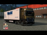 [ETS2 v1.23] New Actros plastic parts and more 3.1.4 + Cabin DLC