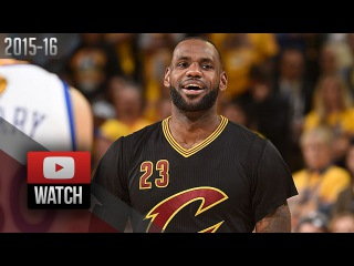 LeBron James Full Game 5 Highlights at Warriors 2016 Finals - 41 Pts, 16 Reb, BEAST MODE!