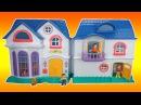 Кукольный домик со счастливой семьёй. Игрушка Keenway Моя счастливая семья My happy family 20132