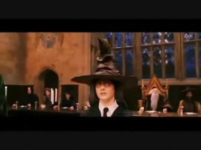 Гарри Поттер - Сцена распределения (МАТ)