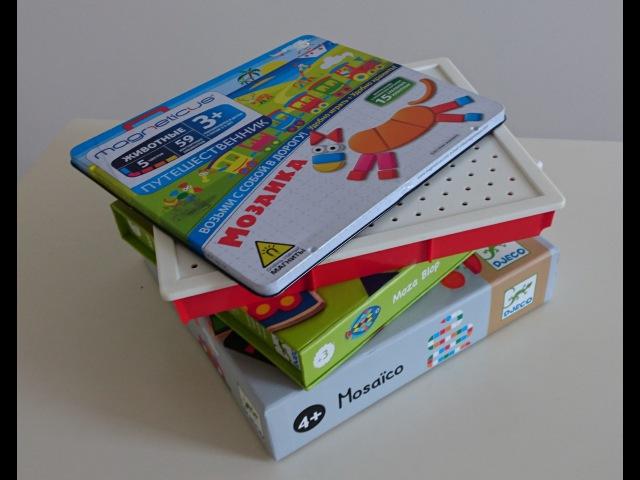 Детский психолог В Паевская Учим ребенка собирать мозаику детям от 1 года до 5 лет