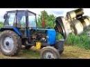 Стартер на ЮМЗ-6 вместо пускача. Модернизация ЮМЗ ч. 2. #СельхозТехника №23