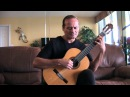 A Gift Of A Thistle Theme from Braveheart Michael Marc Solo Guitar