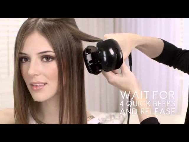 The revolutionary new Perfect Curl by BaByliss Pro