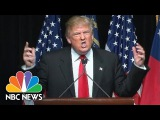 Donald Trump Urges Crowd to Chant 'Turn Off the Lights' NBC News