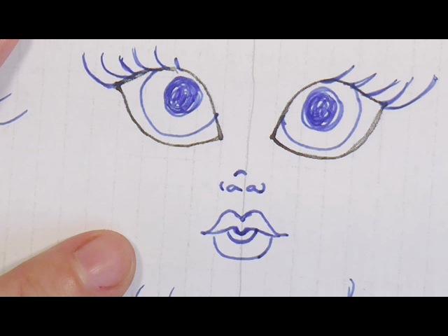 3- tips de dibujo , nariz y boca , manualilolis, video-182