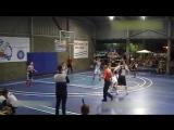 15-летний баскетболист с ростом 229 не замечает соперников