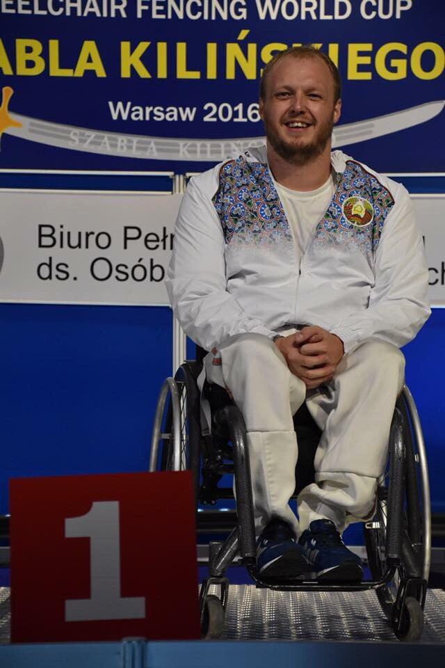 Фехтовальщик-колясочник из Полоцка и пловцы из Новополоцка приняли участие в церемонии открытия летних Игр в Рио, фото-1