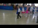 первый турнир у дочки по спортивным бальным танцам. Она № 26.