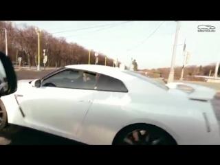 Давидыча унизил Nissan GTR R35