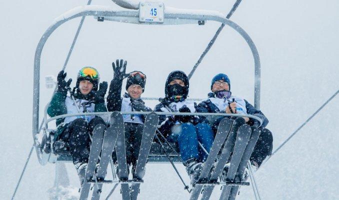 В Зеленчукском районе проходит IV этап Кубка России по горнолыжному спорту