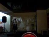 Елена Михайлова поёт песни