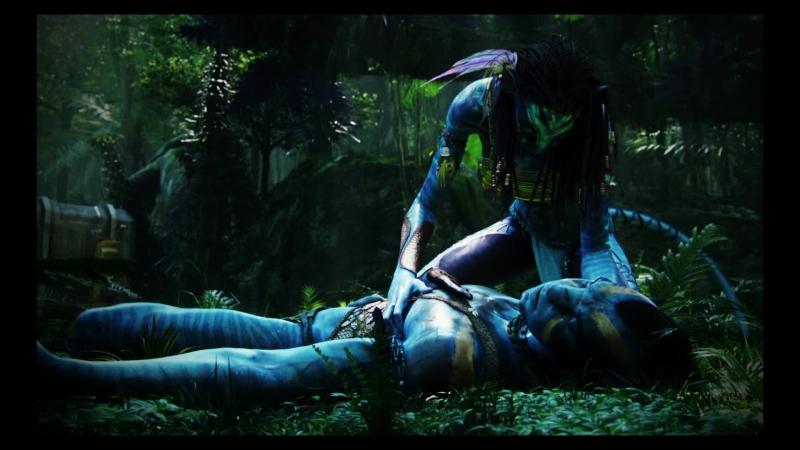 Джек Салли и Нейтири из фильма Аватар  № 1385757  скачать