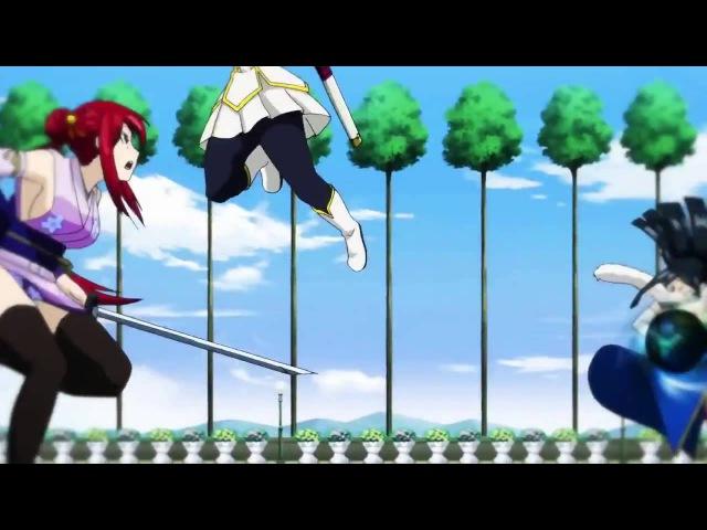 Anime: Fairy Tail AMV / Эльза , Кагура, Минерва