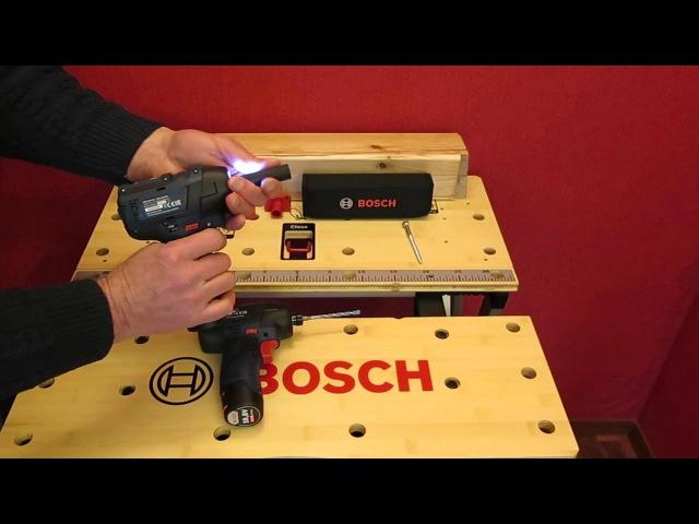 Bosch. GDR 10,8 V-EC GDS 10,8 V-EC. Обзор.