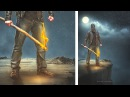 Moon Light Photoshop Manipulation Tutorial Fantasy Photo Effects