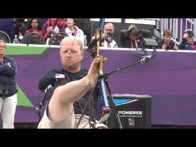 Archery Stutzman USA v Denton USA Men's Ind Compound Open London 2012 Paralympics