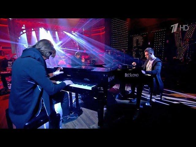 Вечерний Ургант. Bel Suono и Red Square Band — Танец рыцарей. (12.02.2016)