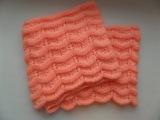 Ажурный шарф снуд. Вязание спицами.  Knitting(Hobby)