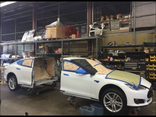 Tesla Limo Worlds First By Big Limos