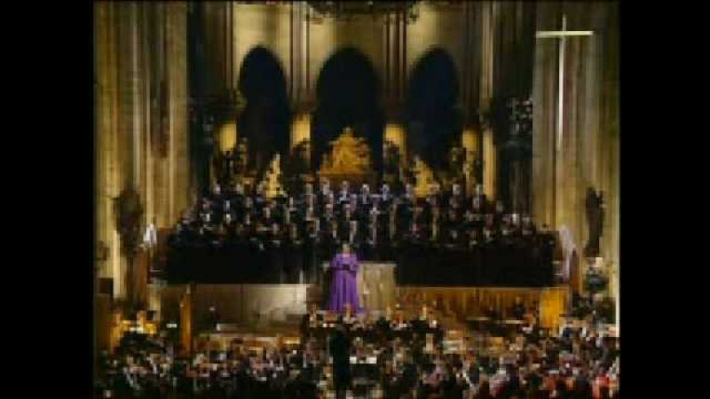 Jessye Norman sings Gounods Sanctus from Messe solennelle