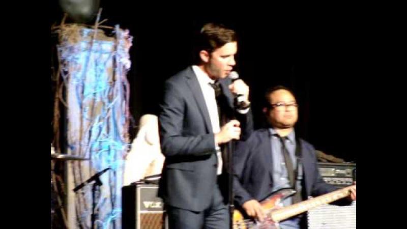 Louden Swain, Gil McKinney, Mark Sheppard, Jensen Ackles Carry On My Wayward Son VegasCon2015