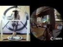 Battlefield 4 multiplayer online in VR with the Cyberith Virtualizer and the Oculus Rift