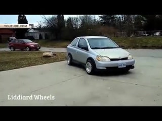Изобретено колесо для езды боком