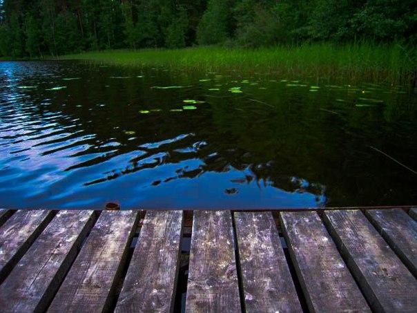 """В Приозерске хорошо, а на озере Большое Заветное, на котором находится база отдыха """"Заветное"""" - еще лучше."""