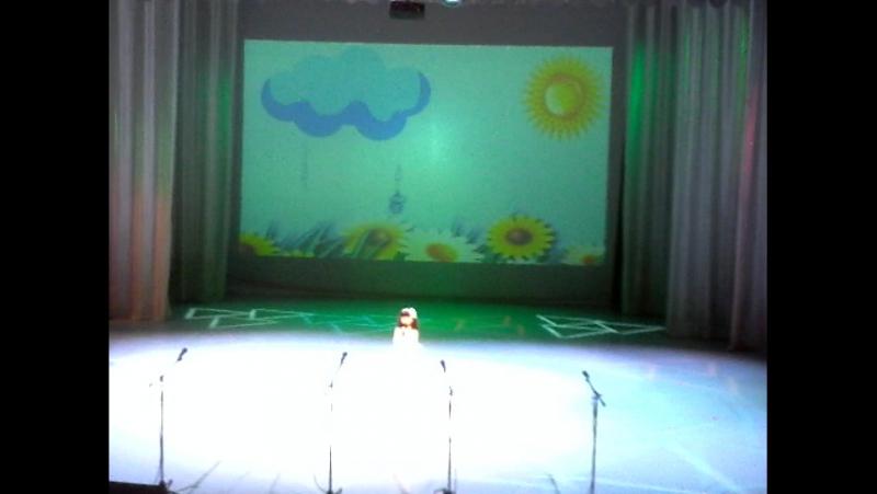 Ангелина на большой сцене!29.03.16🎤👏😘💋🎆🎇🎉🎊🌹🌸🌷🌺