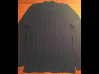 Мужской свитер. Часть первая. Расчеты и начало работы.
