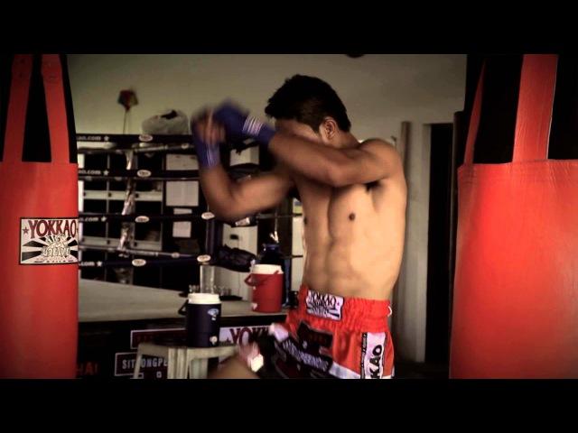 Kem Sitsongpeenong POWER TRAINING for Yokkao Extreme 2013 - @yokkaoboxing