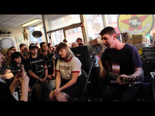 Tigers Jaw - Plane Vs Tank Vs Submarine / I Saw Water (acoustic)
