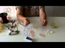 МК Роза из ткани за 30 минут без инструментов Полная версия