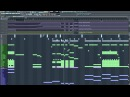 Jordan Suckley Eddie Bitar Centipede James Dymond Remix FL Studio Project View