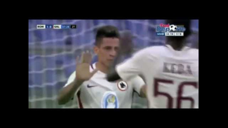 Juan Iturbe Goal - AS Roma 1-1 San Lorenzo Friendlies 2016