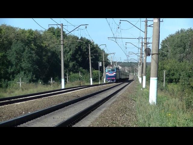 Электровоз ЧС7-043 с поездом № 78 Гродно - Москва