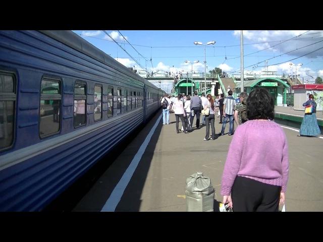 Электровоз ЧС7-045 с поездом № 77 Москва - Гродно