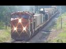 All in One! CSX, BNSF, UP, CEFX, Military Train, DPU, Railfanning Elberton - Athens Ga., 08/22/2015
