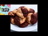 Brownie &amp Chocolate Chip Cookies (Brookies) Tasty
