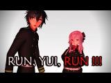 [MMD X ONS] Run, Yui, run !!! [60 FPS]